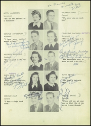Page 15, 1947 Edition, Towson High School - Sidelights Yearbook (Towson, MD) online yearbook collection