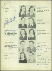 Page 16, 1947 Edition, Towson High School - Sidelights Yearbook (Towson, MD) online yearbook collection