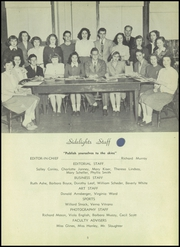 Page 9, 1947 Edition, Towson High School - Sidelights Yearbook (Towson, MD) online yearbook collection