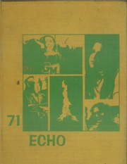 1971 Edition, Great Mills High School - Echo Yearbook (Great Mills, MD)