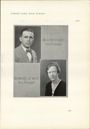 Page 13, 1933 Edition, Forest Park High School - Forester Yearbook (Baltimore, MD) online yearbook collection