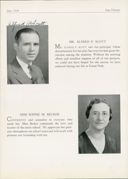 Page 17, 1938 Edition, Forest Park High School - Forester Yearbook (Baltimore, MD) online yearbook collection