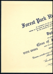 Page 2, 1950 Edition, Forest Park High School - Forester Yearbook (Baltimore, MD) online yearbook collection