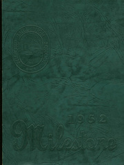 1952 Edition, Milford Mill High School - Milestone Yearbook (Baltimore, MD)