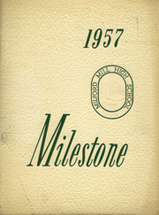 1957 Edition, Milford Mill High School - Milestone Yearbook (Baltimore, MD)