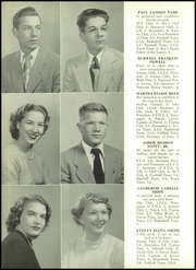 Page 16, 1951 Edition, Sherwood High School - Leaves Yearbook (Sandy Spring, MD) online yearbook collection