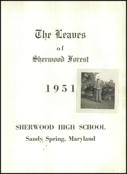 Page 7, 1951 Edition, Sherwood High School - Leaves Yearbook (Sandy Spring, MD) online yearbook collection