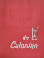 1959 Edition, Catonsville High School - Catonian Yearbook (Baltimore, MD)