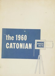 1960 Edition, Catonsville High School - Catonian Yearbook (Baltimore, MD)
