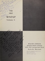 Page 7, 1960 Edition, Walter Johnson High School - Windup Yearbook (Bethesda, MD) online yearbook collection