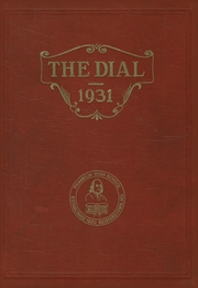 Page 1, 1931 Edition, Franklin High School - Dial Yearbook (Reisterstown, MD) online yearbook collection