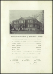 Page 17, 1931 Edition, Franklin High School - Dial Yearbook (Reisterstown, MD) online yearbook collection