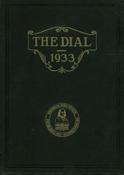 Page 1, 1933 Edition, Franklin High School - Dial Yearbook (Reisterstown, MD) online yearbook collection