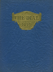 Page 1, 1939 Edition, Franklin High School - Dial Yearbook (Reisterstown, MD) online yearbook collection