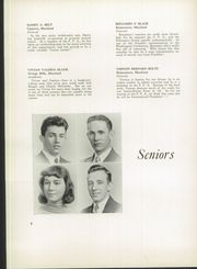 Page 12, 1939 Edition, Franklin High School - Dial Yearbook (Reisterstown, MD) online yearbook collection