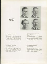 Page 13, 1939 Edition, Franklin High School - Dial Yearbook (Reisterstown, MD) online yearbook collection