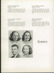 Page 16, 1939 Edition, Franklin High School - Dial Yearbook (Reisterstown, MD) online yearbook collection