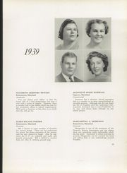 Page 17, 1939 Edition, Franklin High School - Dial Yearbook (Reisterstown, MD) online yearbook collection