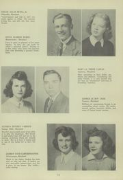 Page 15, 1944 Edition, Franklin High School - Dial Yearbook (Reisterstown, MD) online yearbook collection