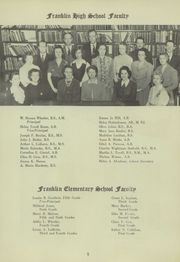 Page 9, 1944 Edition, Franklin High School - Dial Yearbook (Reisterstown, MD) online yearbook collection