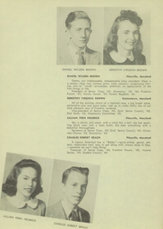 Page 11, 1945 Edition, Franklin High School - Dial Yearbook (Reisterstown, MD) online yearbook collection
