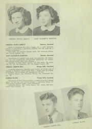 Page 12, 1945 Edition, Franklin High School - Dial Yearbook (Reisterstown, MD) online yearbook collection