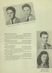 Page 14, 1945 Edition, Franklin High School - Dial Yearbook (Reisterstown, MD) online yearbook collection