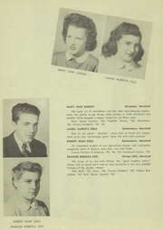 Page 15, 1945 Edition, Franklin High School - Dial Yearbook (Reisterstown, MD) online yearbook collection