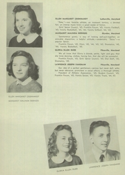 Page 16, 1945 Edition, Franklin High School - Dial Yearbook (Reisterstown, MD) online yearbook collection