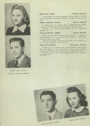 Page 32, 1945 Edition, Franklin High School - Dial Yearbook (Reisterstown, MD) online yearbook collection