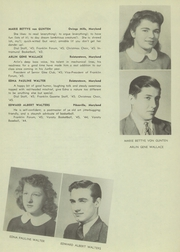 Page 33, 1945 Edition, Franklin High School - Dial Yearbook (Reisterstown, MD) online yearbook collection
