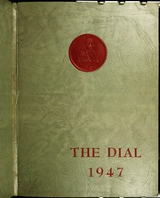 Page 1, 1947 Edition, Franklin High School - Dial Yearbook (Reisterstown, MD) online yearbook collection