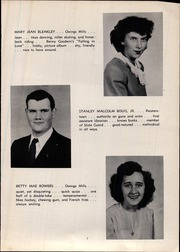 Page 13, 1947 Edition, Franklin High School - Dial Yearbook (Reisterstown, MD) online yearbook collection