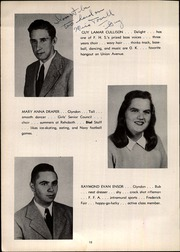 Page 16, 1947 Edition, Franklin High School - Dial Yearbook (Reisterstown, MD) online yearbook collection