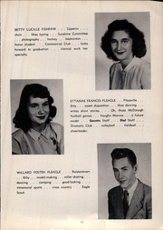 Page 17, 1947 Edition, Franklin High School - Dial Yearbook (Reisterstown, MD) online yearbook collection