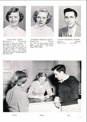 Page 11, 1953 Edition, Franklin High School - Dial Yearbook (Reisterstown, MD) online yearbook collection