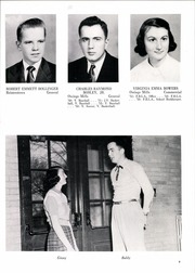Page 13, 1953 Edition, Franklin High School - Dial Yearbook (Reisterstown, MD) online yearbook collection