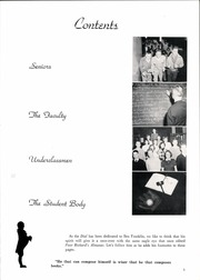 Page 9, 1953 Edition, Franklin High School - Dial Yearbook (Reisterstown, MD) online yearbook collection