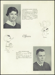 Page 11, 1955 Edition, Franklin High School - Dial Yearbook (Reisterstown, MD) online yearbook collection