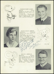Page 13, 1955 Edition, Franklin High School - Dial Yearbook (Reisterstown, MD) online yearbook collection