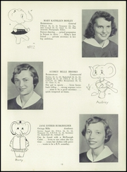 Page 17, 1955 Edition, Franklin High School - Dial Yearbook (Reisterstown, MD) online yearbook collection
