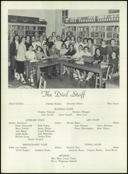 Page 8, 1955 Edition, Franklin High School - Dial Yearbook (Reisterstown, MD) online yearbook collection