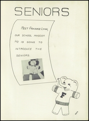 Page 9, 1955 Edition, Franklin High School - Dial Yearbook (Reisterstown, MD) online yearbook collection