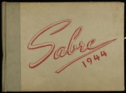 1944 Edition, Fort Hill High School - Sabre Yearbook (Cumberland, MD)