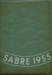 1955 Edition, Fort Hill High School - Sabre Yearbook (Cumberland, MD)