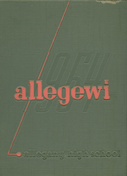 Allegany High School - Alleganac Yearbook (Cumberland, MD) online yearbook collection, 1954 Edition, Page 1