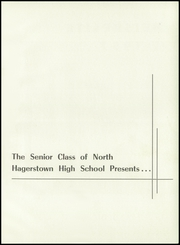 Page 5, 1957 Edition, North Hagerstown High School - Heiskelite Yearbook (Hagerstown, MD) online yearbook collection