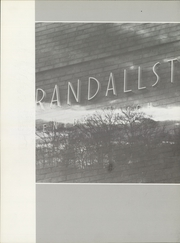 Page 6, 1972 Edition, Randallstown High School - Horizon Yearbook (Randallstown, MD) online yearbook collection