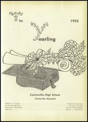 Page 5, 1955 Edition, Queen Annes County High School - Pride Yearbook (Centreville, MD) online yearbook collection