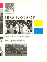 Page 7, 1968 Edition, Kennedy High School - Legacy (Silver Spring, MD) online yearbook collection